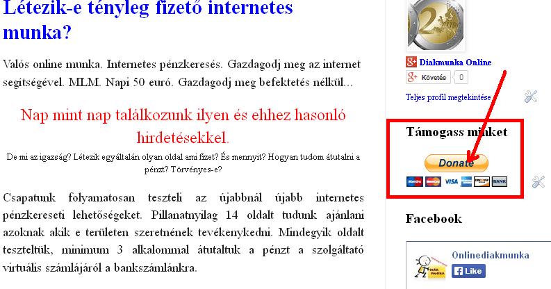 dolgozzon az interneten pénz befektetése nélkül)