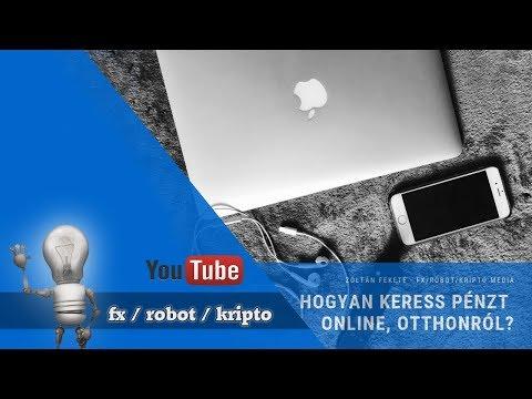 pénzt kereső robot az interneten