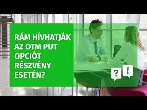 bemutató az opciókról)