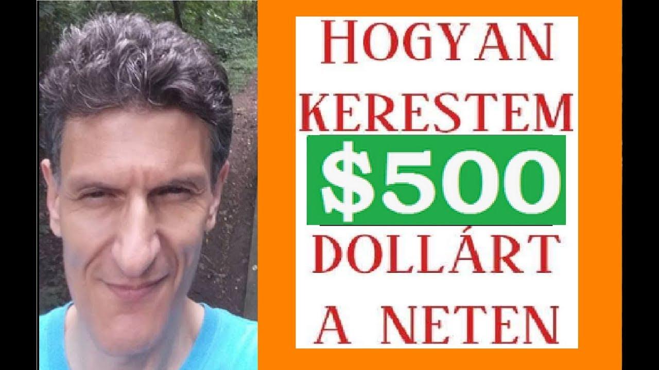 hogyan lehet gyorsan 500 dollárt keresni)