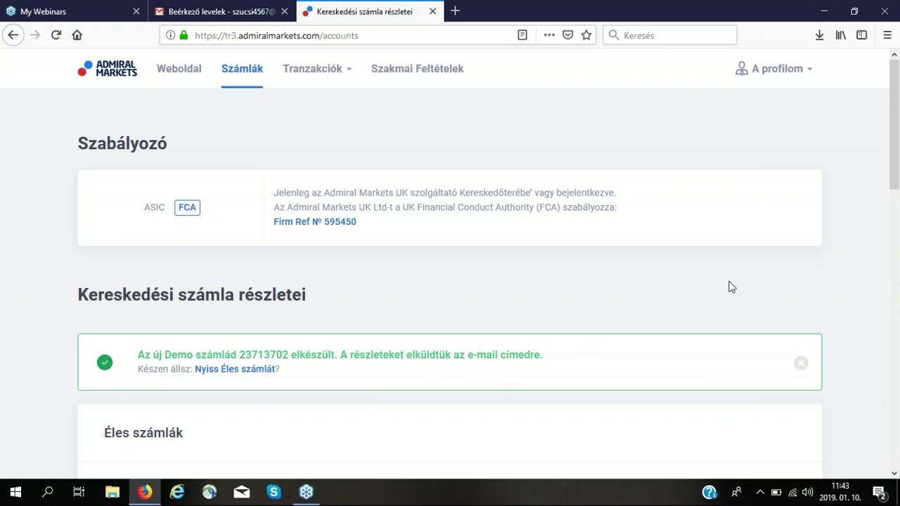 kereskedési jel weboldal