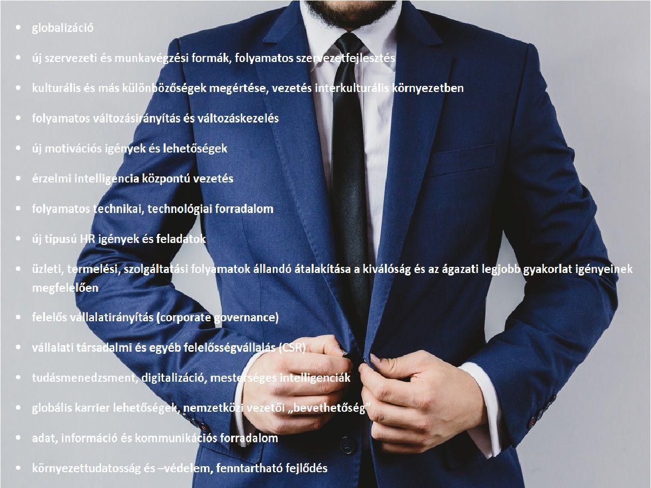 lehetőségek a felső vezetők számára)