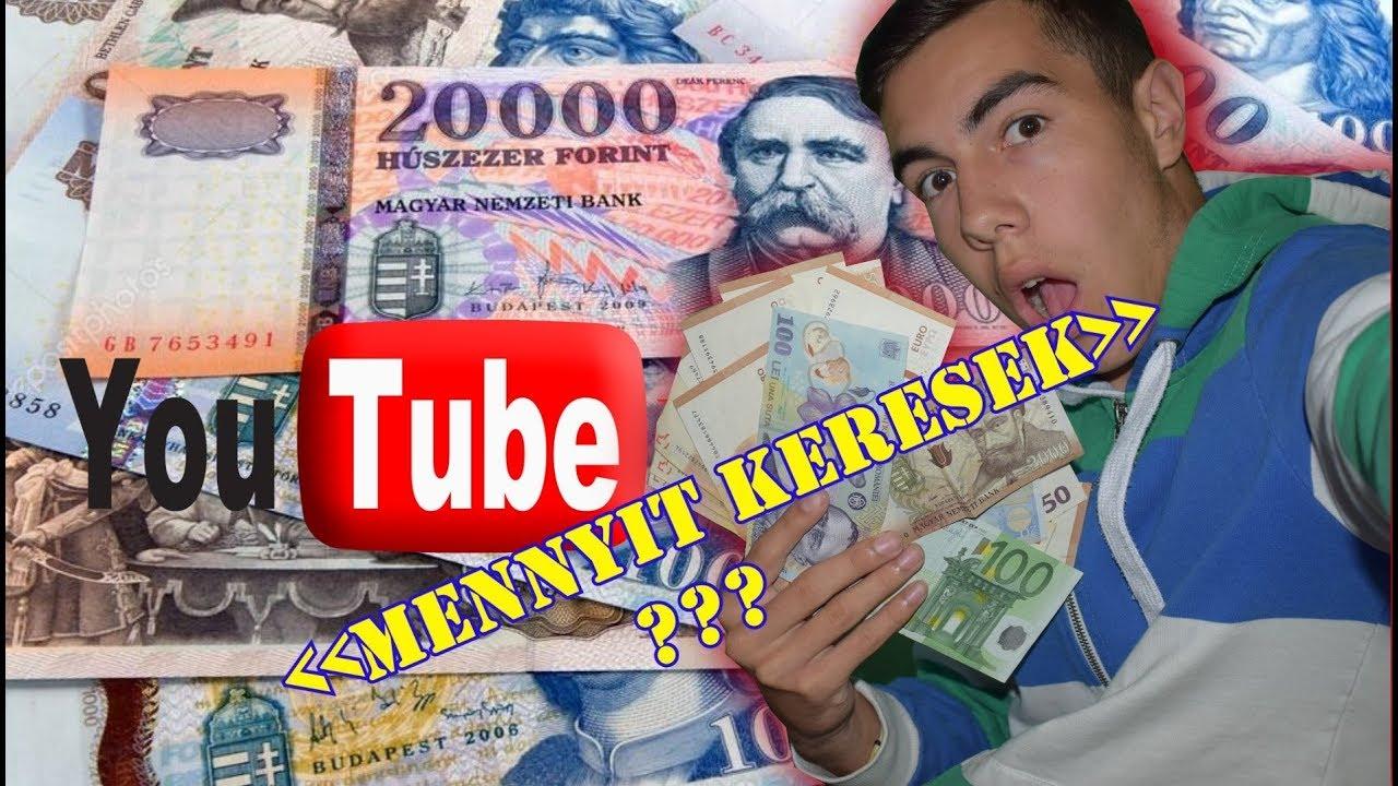 mennyi pénzt keresel videóval