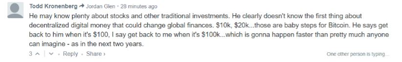 A Bitcoin bevételei nagyok)