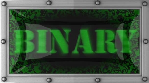 videó a bináris munkáról
