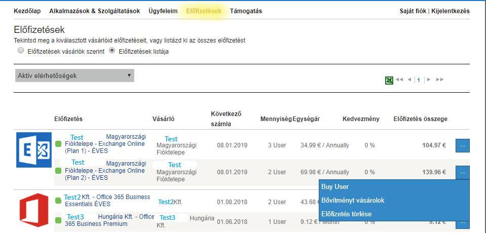 kvazár opciós rendszer)
