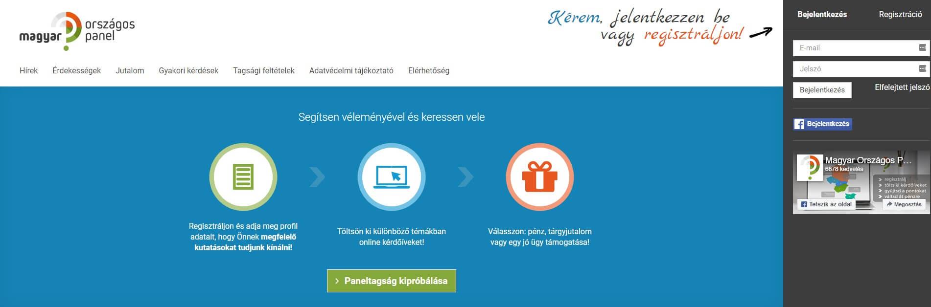 pénzt keresni online kérdőívek kitöltésével