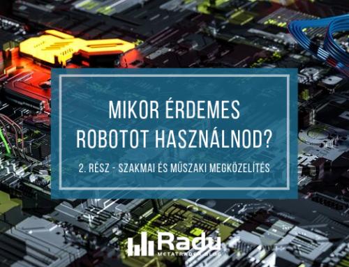 kereskedési robot elve