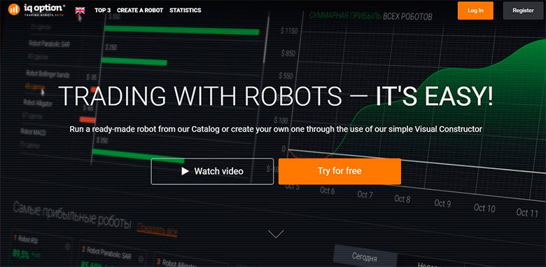 robot bináris opciókhoz q opton