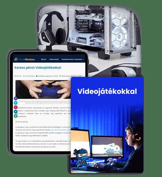 weboldal pénzt keresni videó