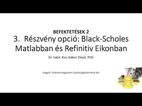 részvényopció videó