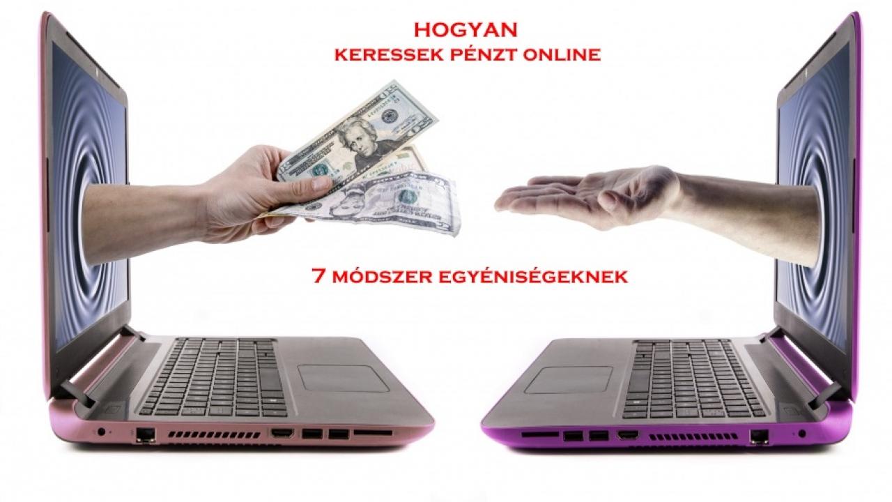 pénzt keresni az internetes előőrsön