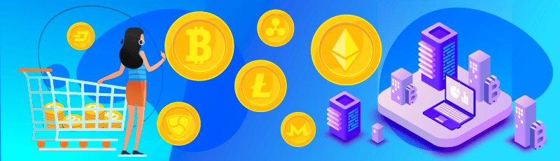Buy/sell cryptocurrencies