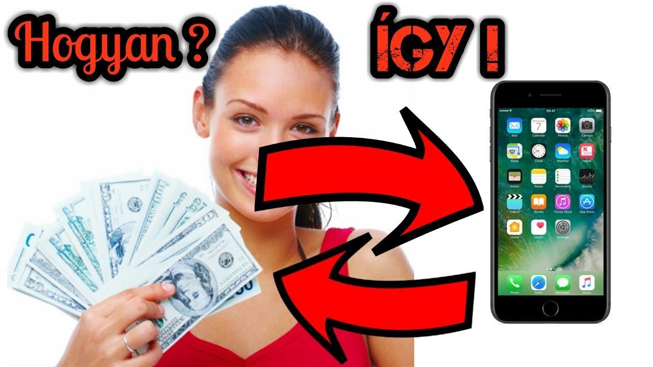 hogyan lehet online pénzt keresni okostelefonról