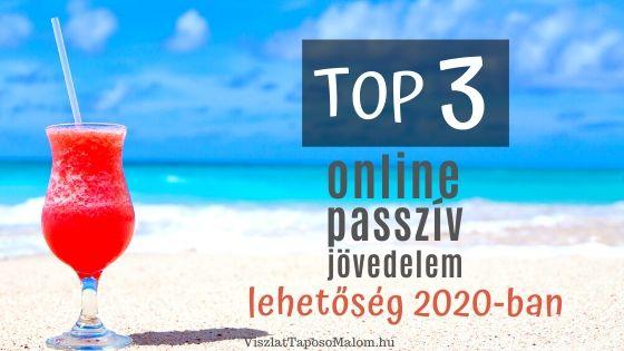 passzív jövedelemprogram az interneten