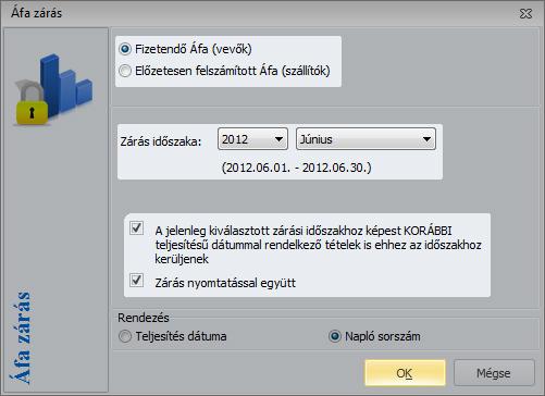 zárási lehetőségek)