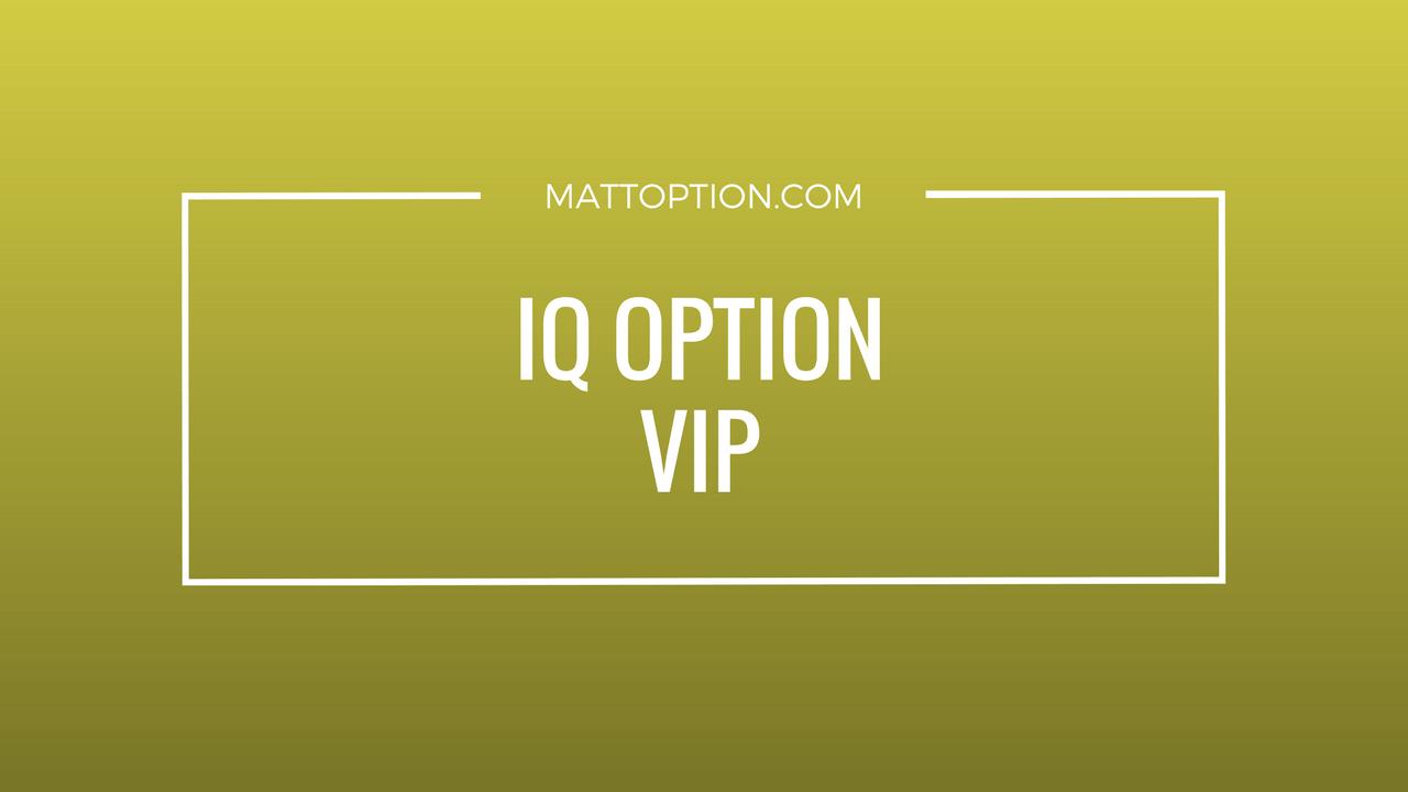 IQ opció felülvizsgálata