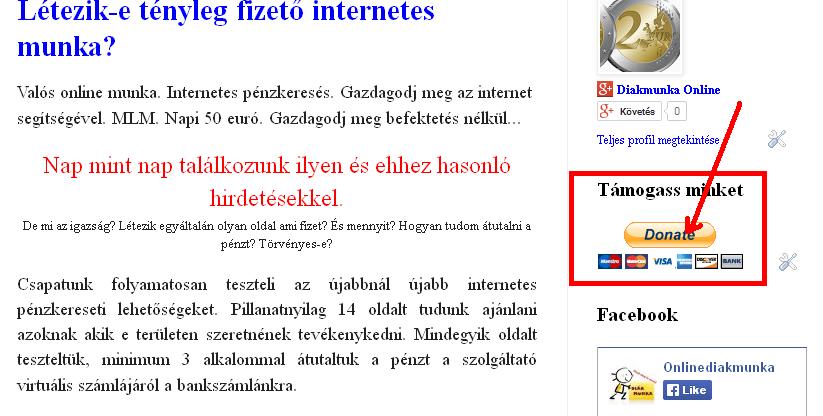 napi kereset az interneten befektetések nélkül)