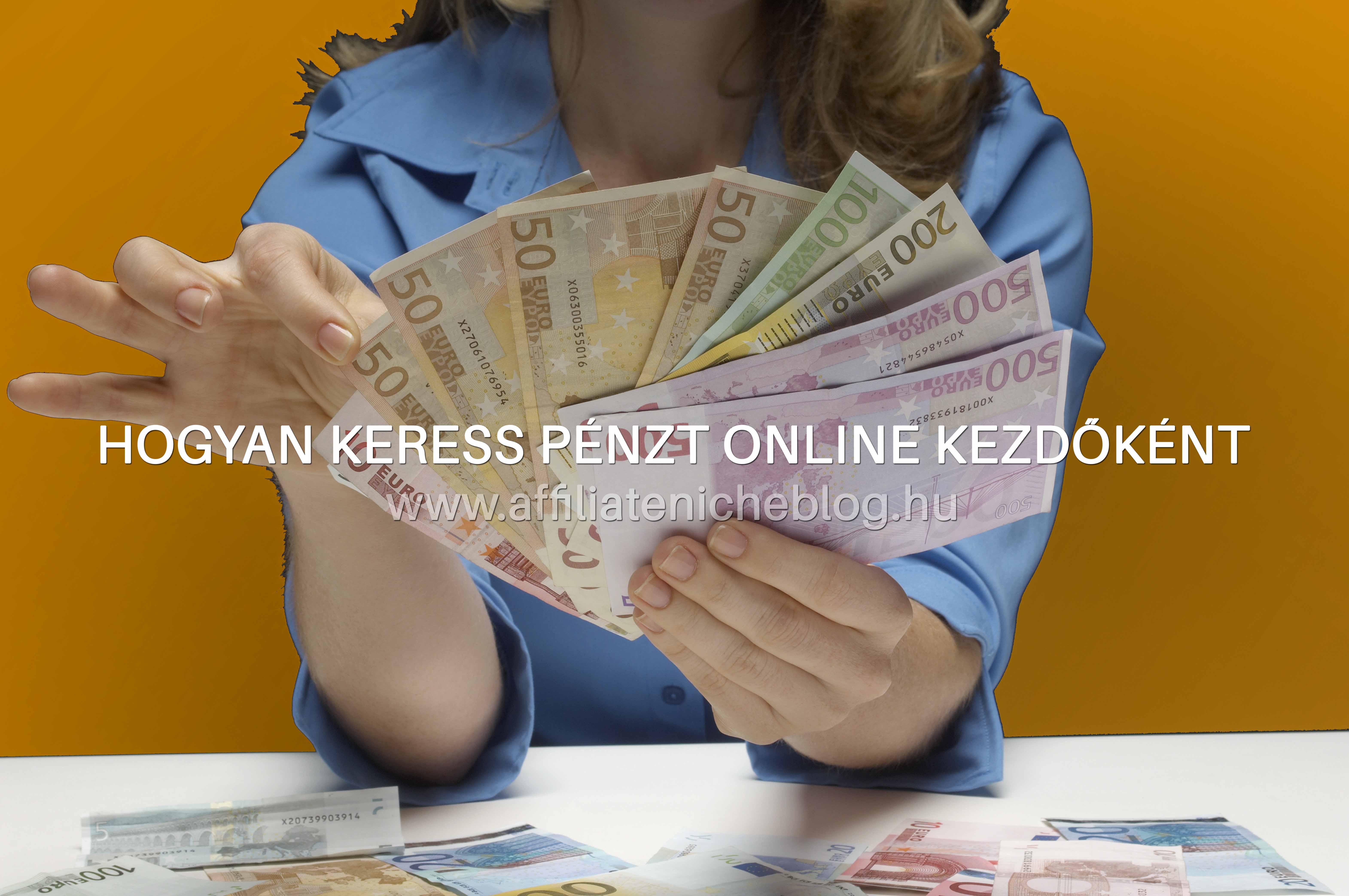 arról, hogyan lehet pénzt keresni az interneten