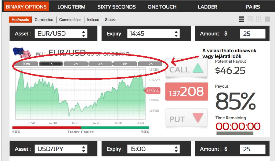 opció jelentése bináris opciók pénzügyi piacai