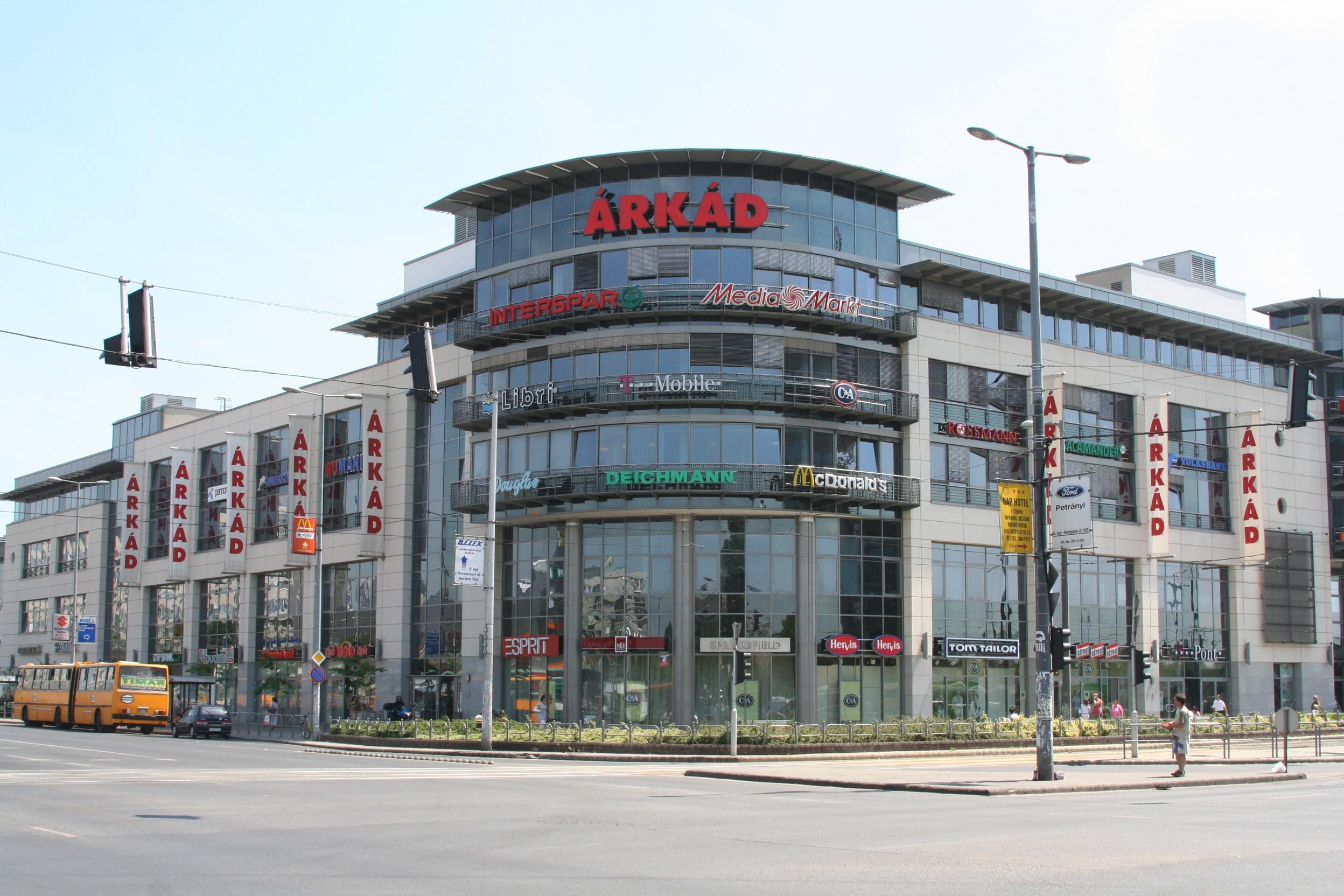 a legnagyobb üzletközpont
