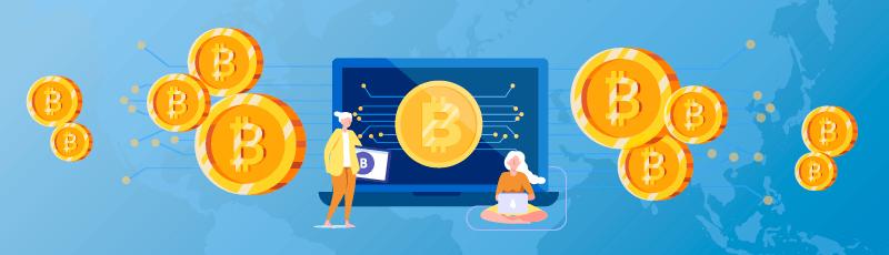 emberek, akik pénzt kerestek bitcoinokon