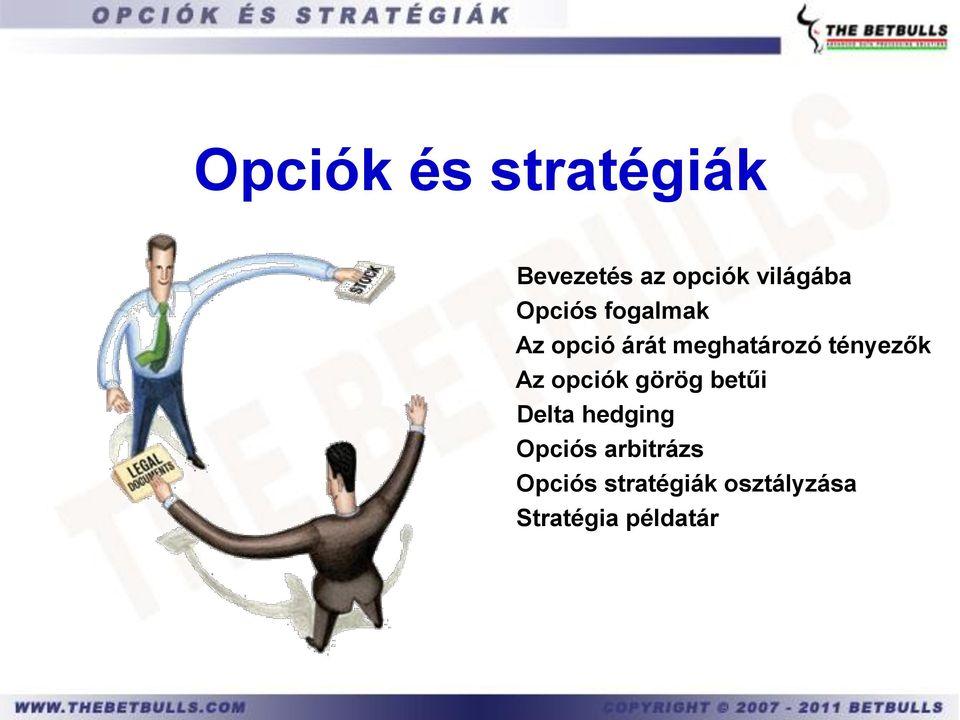 görög opciók leírása)