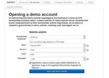 nyissa meg a demo számla bináris opcióit)