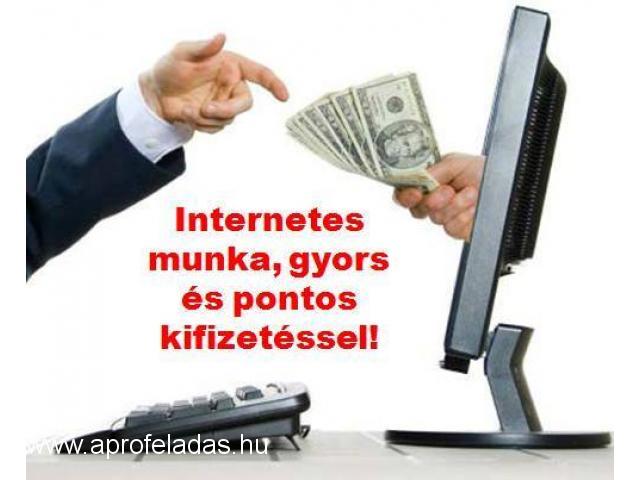 Internetes befektetés-nélkül! Állás
