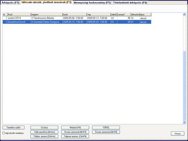 opciós árképző szoftver