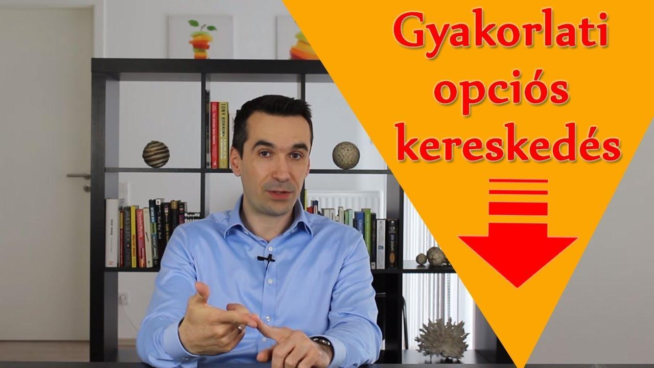opciós kereskedési ülések)